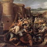 Cavalier_dArpino_-_St_Clare_with_the_Scene_of_the_Siege_of_Assisi_-_WGA04703.th.jpg