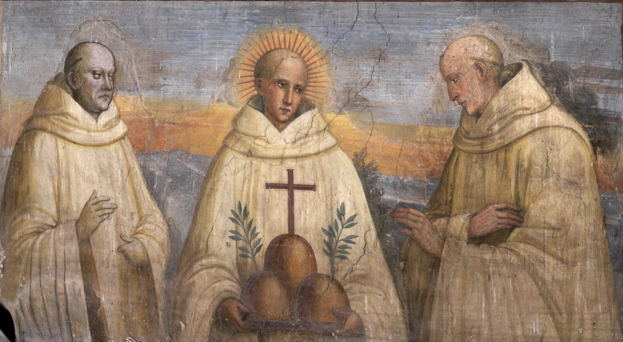 Patrizio di Francesco Patrizi, Santo Bernardus Tolomei dan Ambrogio di Nino Piccolomini