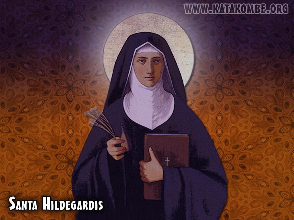 Santa Hildegardis Von Bingen