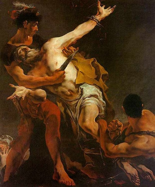 "Giovanni Battista Tiepolo [Public domain], <a href=""https://commons.wikimedia.org/wiki/File:Saint_barthelemy.jpg"" target=""_blank"">via Wikimedia Commons</a>"