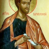St._Barholomew_icon_in_Saint_Michael_Archangel_church_in_Baku_resize