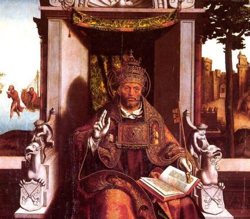 "Grão Vasco [Public domain], <a href=""https://commons.wikimedia.org/wiki/File:Saint_Peter_by_Gr%C3%A3o_Vasco.jpg"" target=""_blank"">via Wikimedia Commons</a>"