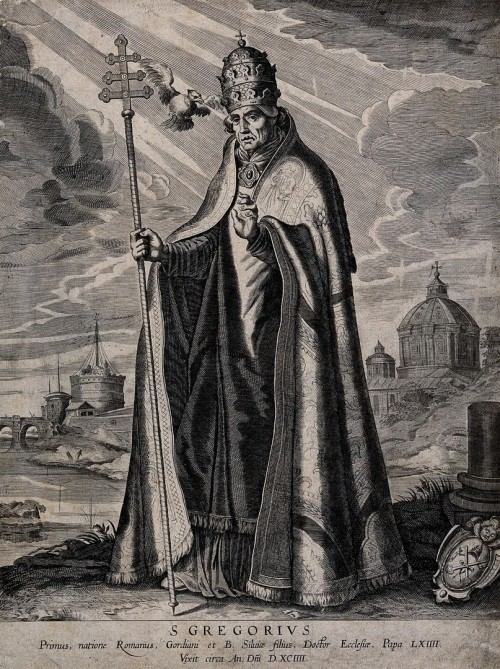 Saint_Gregory_the_Great._Engraving_by_A._Hogenberg_after_D._Wellcome_V0032164_resize.jpg