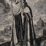 Saint_Gregory_the_Great._Engraving_by_A._Hogenberg_after_D._Wellcome_V0032164_resize