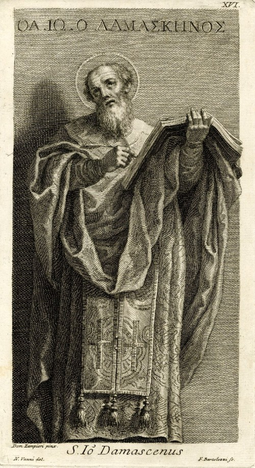"Francesco Bartolozzi [Public domain], <a href=""https://commons.wikimedia.org/wiki/File:St_Johannes_Damascenus.jpg""  target=""_blank"">via Wikimedia Commons</a>"