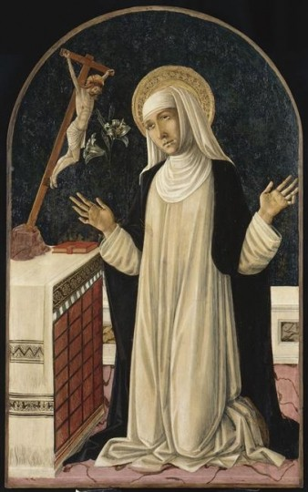 "Matteo di Giovanni [Public domain], <a href=""https://commons.wikimedia.org/wiki/File:CATHERINE_DE_SIENNE.jpg""  target=""_blank"">via Wikimedia Commons</a>"