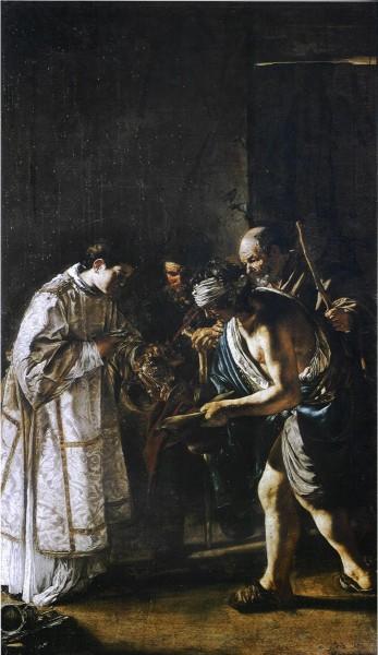 "Giovanni Serodine [Public domain], <a href=""https://commons.wikimedia.org/wiki/File:Giovanni_Serodine_Saint_Lawrence_Distributing_Alms.jpg""  target=""_blank"">via Wikimedia Commons</a>"