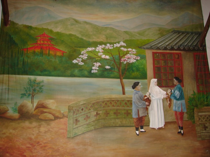 """See page for author [Public domain], <a href=""""https://commons.wikimedia.org/wiki/File:Painting_Amandina_in_China.JPG""""  target=""""_blank"""">via Wikimedia Commons</a>"""