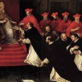 Leandro-Bassano---Honorius-III-Approving-the-Rule-of-St-Dominic-in-1216