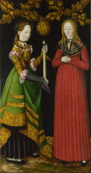 Lucas_Cranach_the_Elder_-_Saints_Genevieve_and_Apollonia_resize.jpg