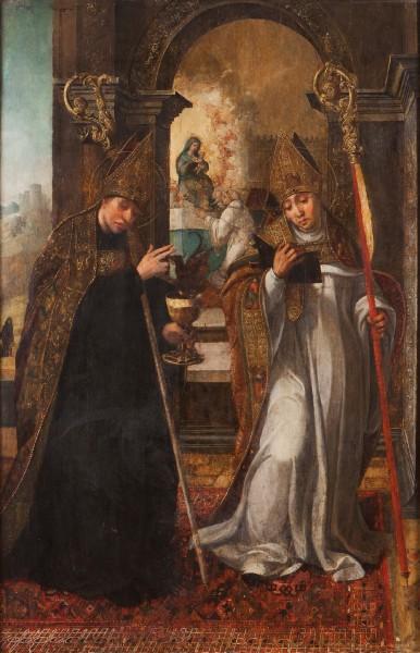 Saint-Benedict-and-Saint-Bernard-1542-by-Diogo-de-Contreiras.jpg