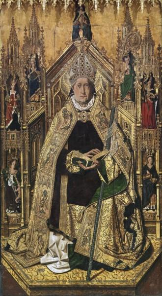 Santo-Domingo-de-Silos-enthroned-as-bishop-by-Bartolome-Bermejo-Prado-Museum.jpg