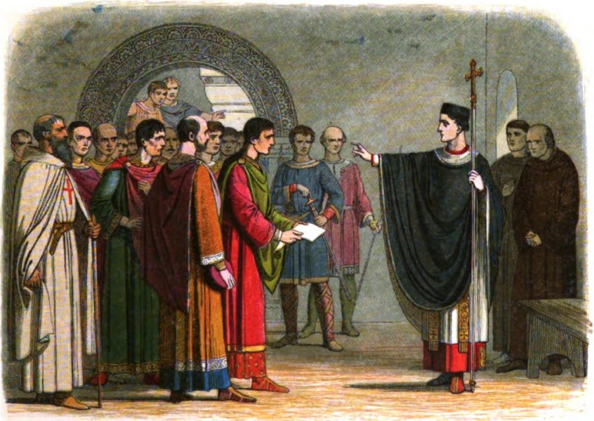 A_Chronicle_of_England_-_Page_167_-_Becket_Forbids_the_Earl_of_Leceister_to_Pass_Sentence_on_Him.jpg