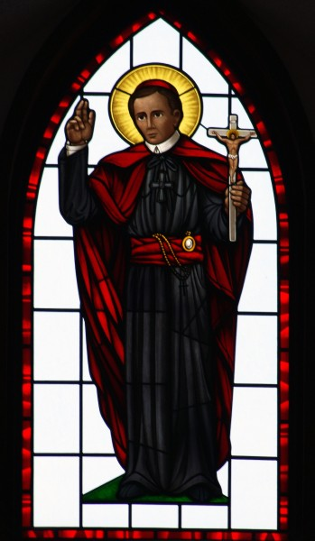 Saint_Joan_of_Arc_Catholic_Church_Powell_Ohio_interior_stained_glass_St._John_Neumann.jpg