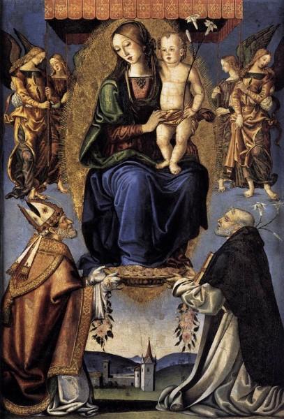 Bernardino_Di_Mariotto_Dello_Stagno_-_Madonna_and_Child_with_Sts_Severino_and_Dominic.jpg