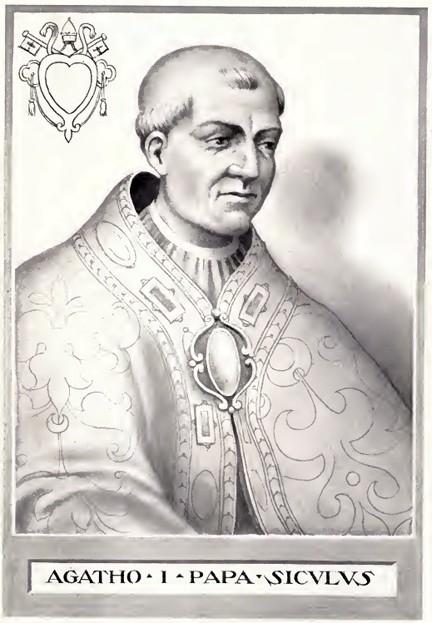 Santo Paus Agathus