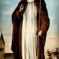 Saint_Bridget_of_Ireland_Colour_lithograph
