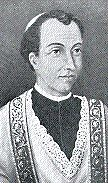 """Saint Joseph Vaz,CO, was an Oratorian priest and missionary in Sri Lanka, then known as Ceylon. Vaz arrived in Ceylon during the Dutch occupation, when the Dutch were imposing Calvinism as the official religion after taking over from the Portuguese. He travelled throughout the island bringing the Eucharist and the sacraments to clandestine groups of Catholics. Later in his mission, he found shelter in the Kingdom of Kandy where he was able to work freely. By the time of his death, Vaz had managed to rebuild the Catholic Church on the island  <a href=""""https://commons.wikimedia.org/wiki/File:Joseph_Vaz_Ausschnitt.jpg"""" title=""""via Wikimedia Commons"""" target=""""_blank"""">Zeitgenössischer Maler (Ausschnitt aus altem Gemälde in Kandy)</a> [Public domain]"""