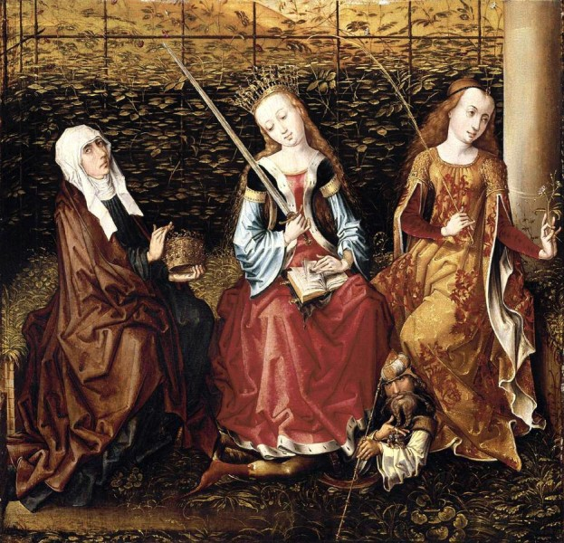 Master_Of_The_View_Of_Ste_Gudule_-_St_Catherine_of_Alexandria_with_Sts_Elizabeth_of_Hungary_and_Dorothy.jpg