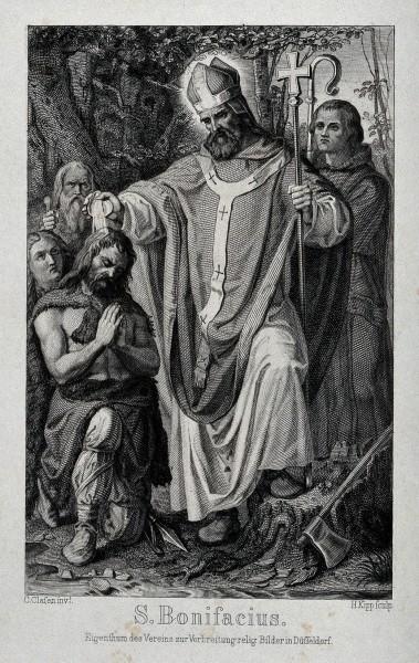 Saint_Boniface._Engraving_by_H._Kipp_after_K._Clasen._Wellcome.jpg