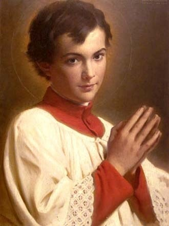 "Saint Dominic Savio is the patron saint of students. He was studying to be a priest when he became ill and died at the age of 14. He is the youngest non-martyr Saint in the Catholic Church.    <a href=""https://commons.wikimedia.org/wiki/File:San_Domenico_Savio.jpg"" title=""via Wikimedia Commons"" target=""_blank"">Coroinha Anônimo</a> / Public domain"