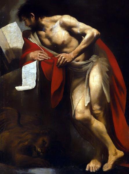 """<a href=""""https://commons.wikimedia.org/wiki/File:Pietro_della_Vecchia_-_St_Mark_the_Evangelist.jpg"""" title=""""via Wikimedia Commons"""" target=""""_blank"""">Pietro della Vecchia</a> / Public domain"""