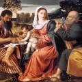 Polidoro_da_Lanciano_-_Madonna_and_Child_with_Saints_Mark_and_Peter_-_Walters_37515