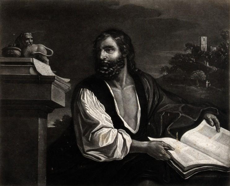 Saint_Mark._Mezzotint_by_Turner_1829_after_G.F._Barbieri_Wellcome_V0032604.jpg