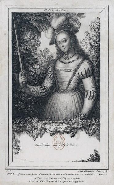 """<a href=""""https://commons.wikimedia.org/wiki/File:Le_Mire_gravure_de_Jeanne_d%27Arc_1774.jpg"""" title=""""via Wikimedia Commons"""" target=""""_blank"""">Noël Lemire</a> / Public domain"""