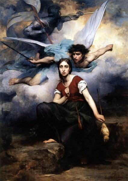 "<a href=""https://commons.wikimedia.org/wiki/File:Jeanne_d%27_Arc_(Eugene_Thirion).jpg"" title=""via Wikimedia Commons"" target=""_blank"">Eugène Romain Thirion</a> / Public domain"