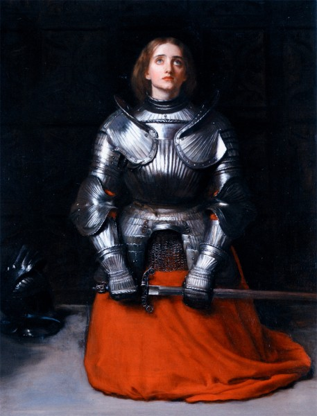"<a href=""https://commons.wikimedia.org/wiki/File:John_Everett_Millais_-_Joan_of_Arc.jpg"" title=""via Wikimedia Commons"" target=""_blank"">John Everett Millais</a> / Public domain"