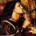Rossetti_Jeanne_dArc_embrassant_lepee_de_la_Delivrance__Musee_dart_moderne_et_contemporain_de_Strasbourg_