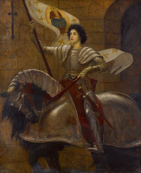 "<a href=""https://commons.wikimedia.org/wiki/File:William_Blake_Richmond_-_Joan_of_Arc.jpg"" title=""via Wikimedia Commons"" target=""_blank"">William Blake Richmond</a> / Public domain"