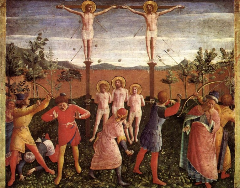 Fra_Angelico_-_Saint_Cosmas_and_Saint_Damian_Crucifixed_and_Stoned.jpg