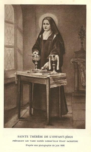 """Sainte Thérèse de l'Enfant Jésus, Histoire d'une âme écrite par elle-même, Lisieux, Office central de Lisieux (Calvados), & Bar-le-Duc, Imprimerie Saint-Paul, 1937, édition 1940  <a href=""""https://commons.wikimedia.org/wiki/File:Th%C3%A9r%C3%A8se_Martin-Histoire_d%27une_%C3%A2me-A16.jpg"""" title=""""via Wikimedia Commons"""" target=""""_blank"""">Office de Lisieux (1940)</a> / Public domain"""