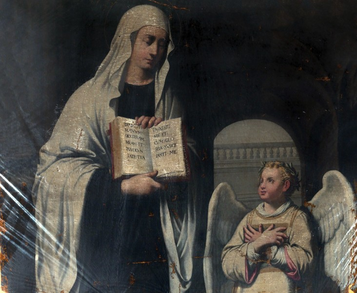 """Painting of Saint Frances of Rome - Unidentified Italian Painter, ca.1650  <a href=""""https://commons.wikimedia.org/wiki/File:SAAM-1978.66_1.jpg"""" target=""""_blank"""">Unidentified (Italian?)</a>, CC0, via Wikimedia Commons"""